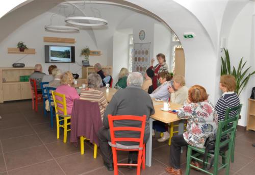 Klub Tomáš: vstřícné místo pro setkávání seniorů a jejich blízkých - únor 2019 (foto Jaroslav Tatek)