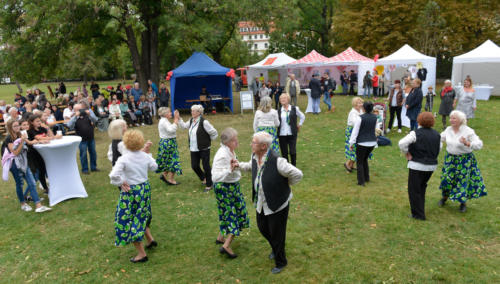Svátek seniorů na Kampě, 1. 10. 2019 (foto Jaroslav Tatek)