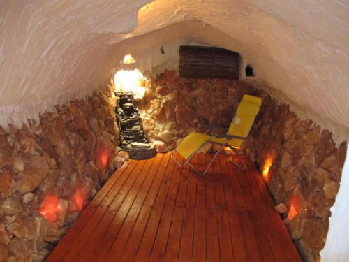 Relaxační místnost s přímořským mikroklimatem